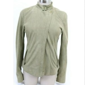 Banana Republic Women's Moto Jacket Size Small Tan